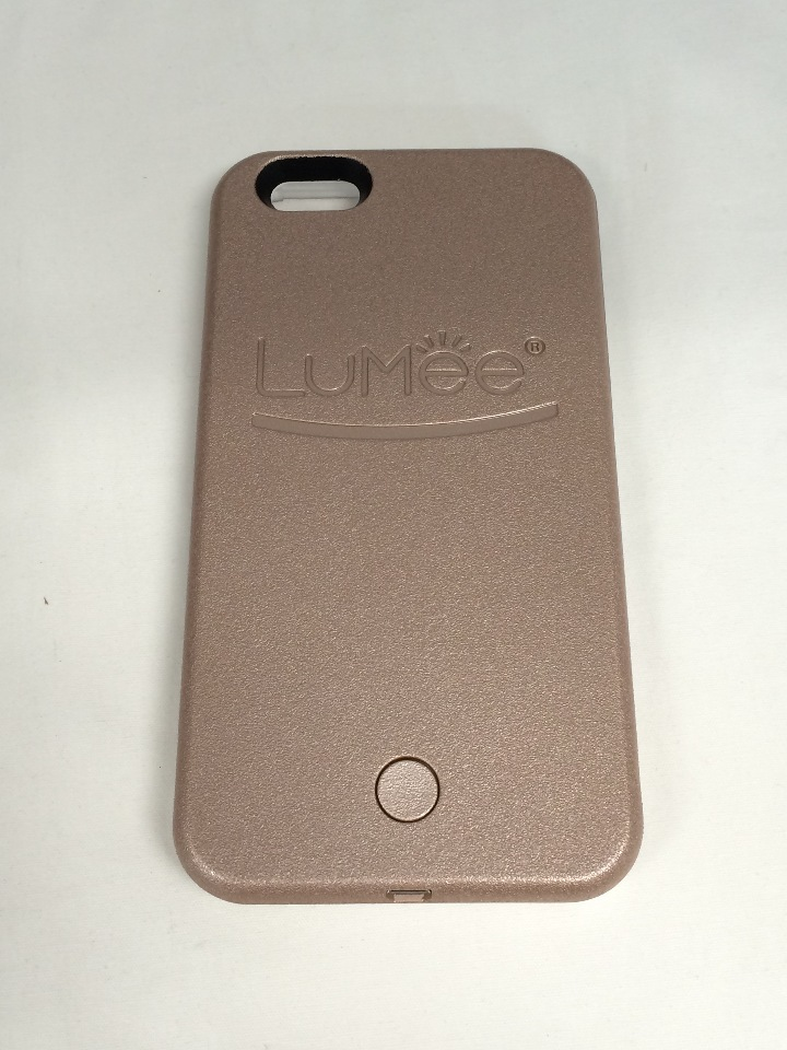 new product 0e49e fb063 iPhone 6S Plus Lumee Illuminated Cell Phone Case - Rose Gold