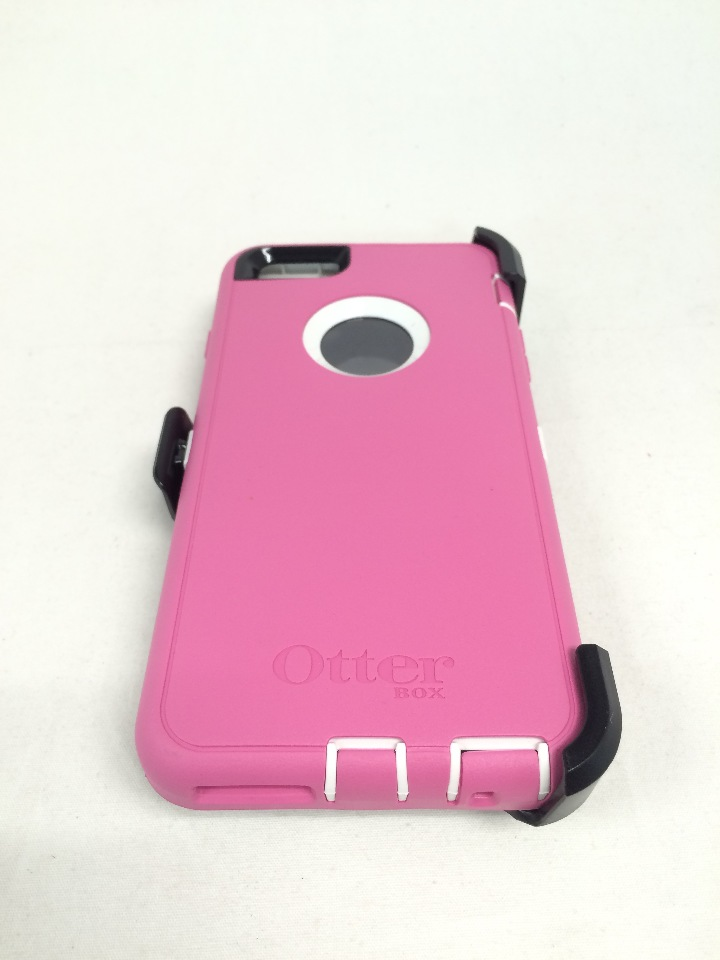 OtterBox DEFENDER iPhone 6 Plus/6s Plus Case - HIBISCUS FROST (WHITE/PINK)