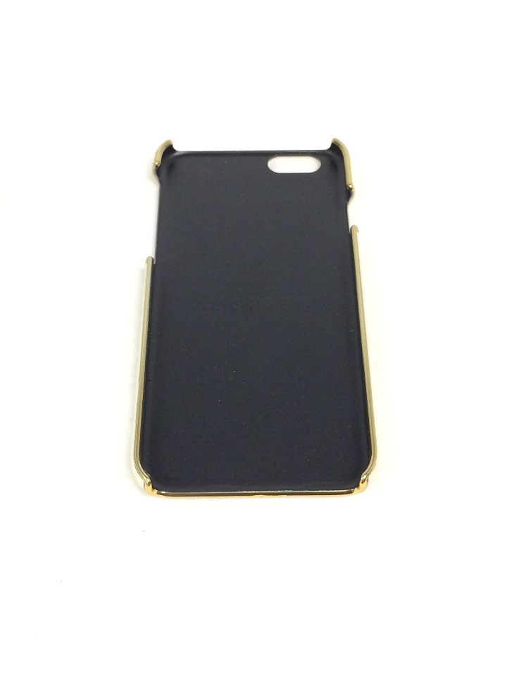 sale retailer d2e8e f99b5 Adopted LEATHER Wrap for IPhone 6 Cream and Gold