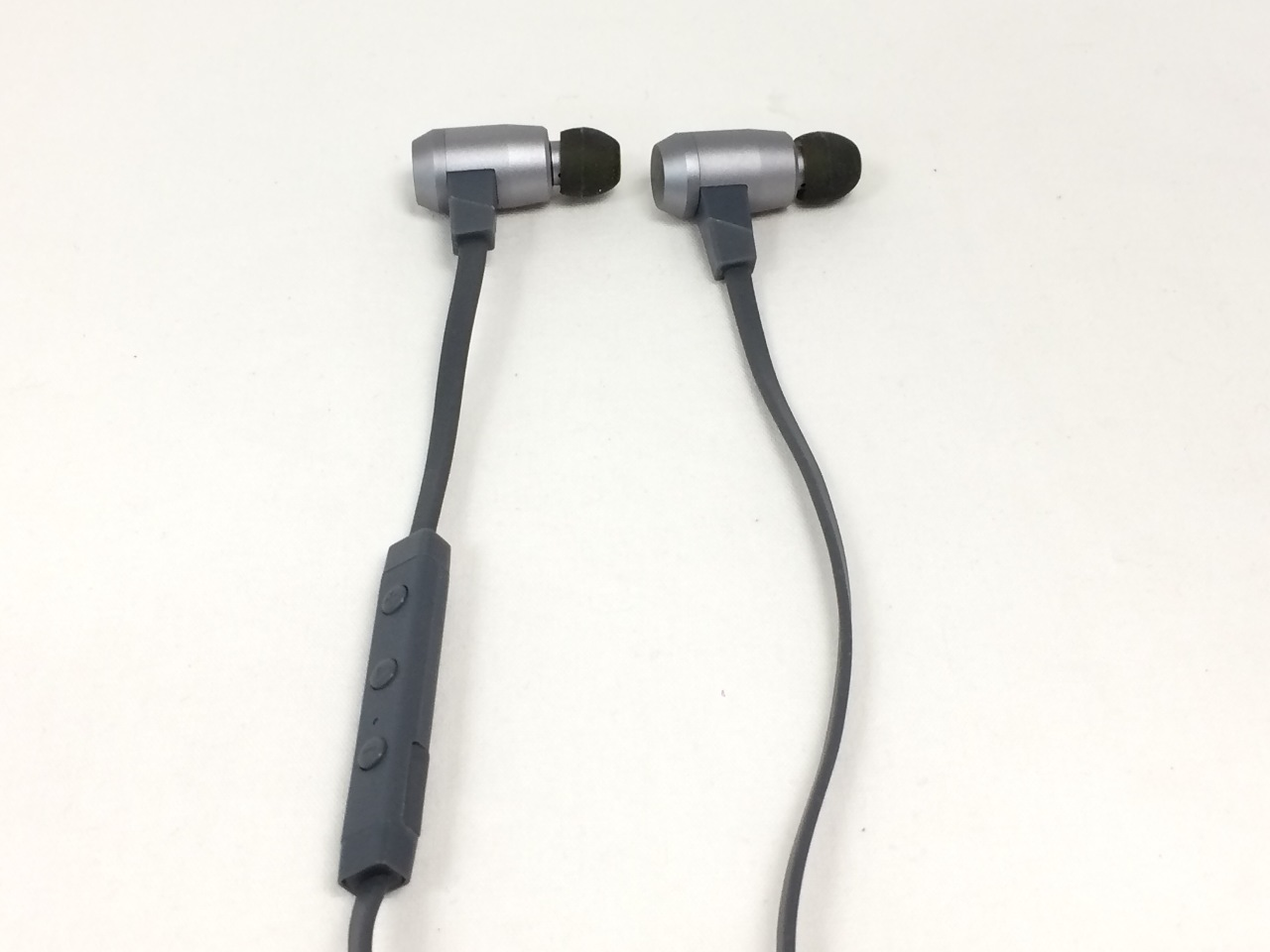 NuForce BE6i Wireless Bluetooth Headphones with aptX, AAC and Long Battery,  Grey