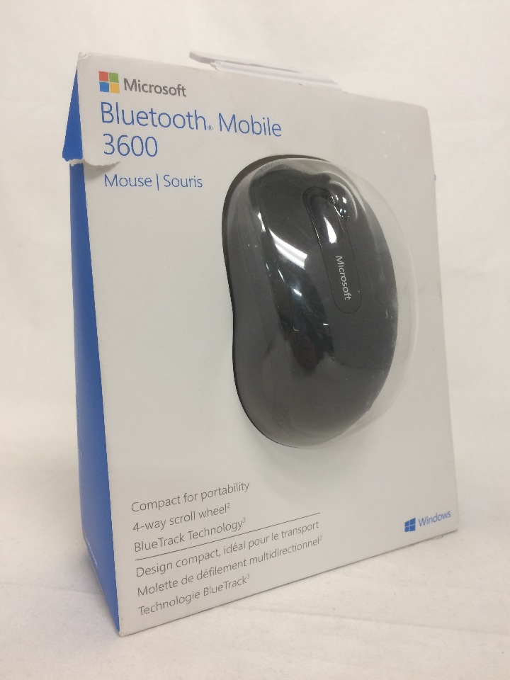 Microsoft Bluetooth Mobile Mouse 3600 - Black