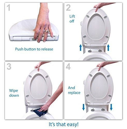 Surprising Bath Royale Premium Elongated Toilet Seat With Cover White Slow Close For All Forskolin Free Trial Chair Design Images Forskolin Free Trialorg