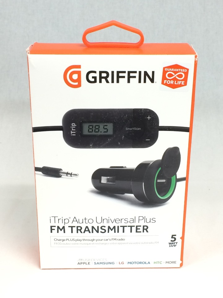low priced 85efc 6fcf1 Griffin iTrip Auto Universal Plus FM Transmitter