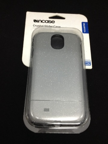 Incase Crystal Slider Case For Galaxy S4 Cl69260 - Silver Glitter