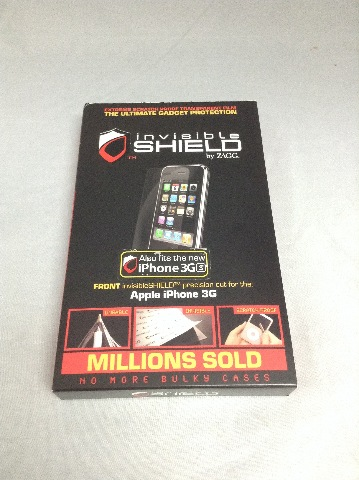 ZAGG Invisible Shield For iPhone 3G and 3GS - Front