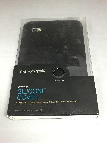 Samsung Galaxy Tab 7.0 Silicone Protective Cover Case ET-GTABBSCGSTA - Black