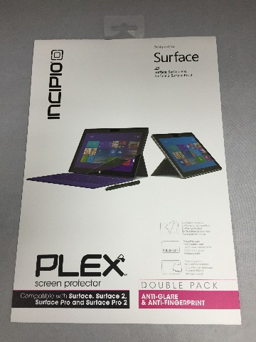 Incipio Plex Screen Protector for Surface, Pro, and Pro 2 - Two pack