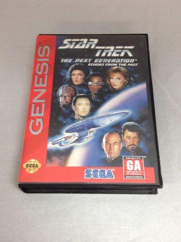 Star Trek Tng Echoes From The Past For Sega Genesis (No Manual)