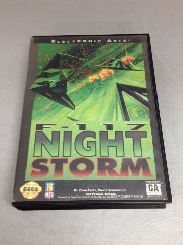 F-117 Night Storm (No manual)