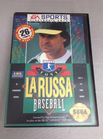 Tony LaRussa Baseball - No Cartridge