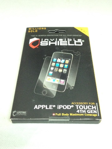 Zagg Invisibleshield For Apple iPod Touch 4g (Maximum Coverage)