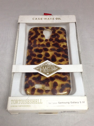 Case-Mate - Case For Samsung Galaxy S 4 Mobile Phones - Yellow/Brown