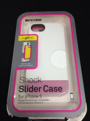 Incase Shock Slider For iPhone 5 - White/Frost/Magenta - Cl69073