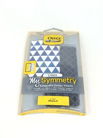 OtterBox SYMMETRY SERIES SKY TRIANGLE / CHAINLINK BLUE INSERTS