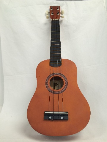 Pyle PUKT12BR Ukulele Tenor / Concert-Style Uke, 25'' inch (Maple/Dark Brown)
