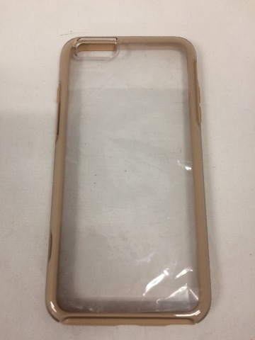 online retailer db0e2 a35dd OtterBox SYMMETRY CLEAR SERIES Case for iPhone 6 PLUS/6s PLUS,  Clear/Roasted Tan