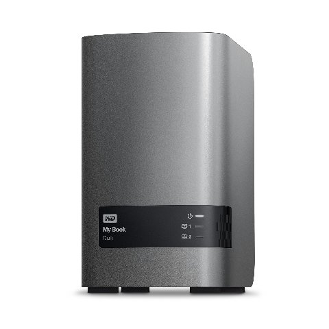 WD 12TB My Book Duo Desktop RAID External Hard Drive - USB 3.0 - NO Drives