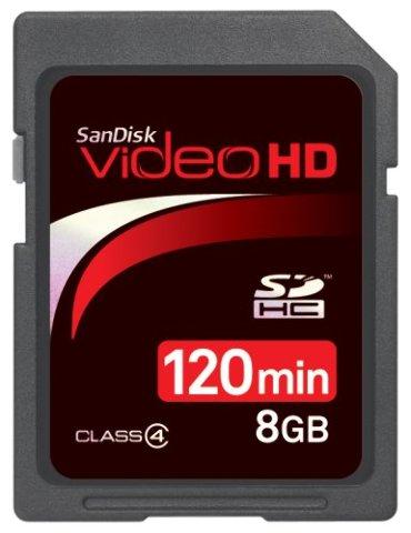 SanDisk SDSDHV-008G-A15 8GB Video HD SDHC - SEALED