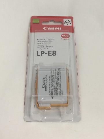 Canon Lp-E8 Battery Pack For Eos 550d 600d
