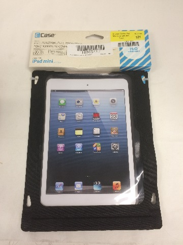 E-Case iSeries iPad Mini Case with Jack, Black
