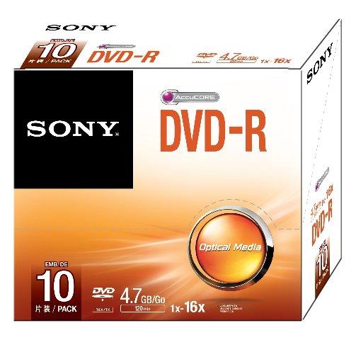 Sony DVD-R - 10 pack