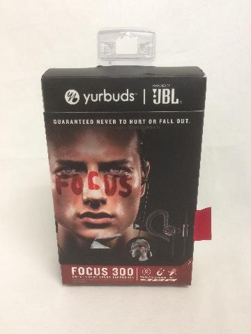 Yurbuds Focus 300 Behind-The-Ear Sweatproof Sport Earbuds