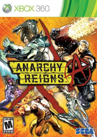 Anarchy Reigns - Xbox 360 - SEALED