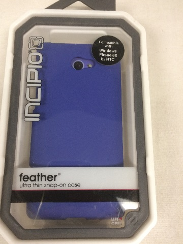 Incipio Feather Ultra Thin Snap-On Case for HTC Windows 8x (BLUE)