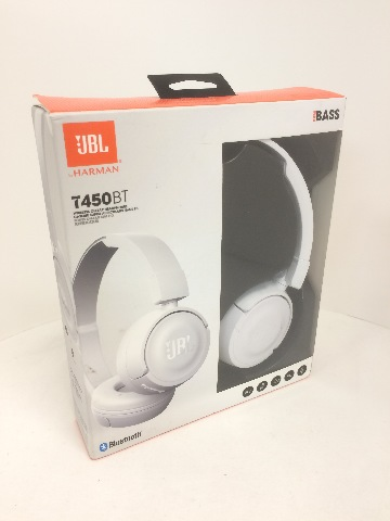 f0be986fe75 JBL Pure Bass Sound Bluetooth T450BT Wireless On-Ear Headphones White | Buy  Stuff Store