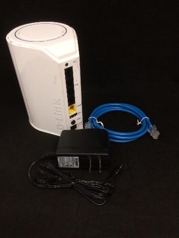 D-Link DIR-818LW Wireless AC750 Dual-Band Gigabit Router - White