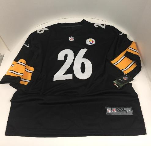 Nike NFL Pittsburgh Steelers Levon Bell Jersey - Black - XXL