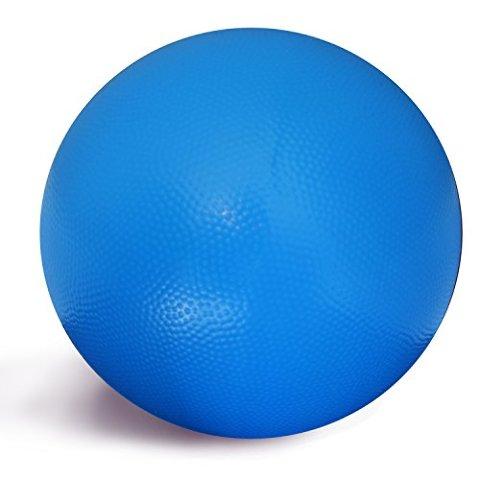 "Yoga Accessories Professional 8"" Core Training Ball (Blue)"