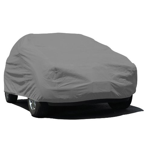 Budge Ub-0 Lite Suv Cover Fits Small Suv's Up To 162 in - Polypropylene, Grey