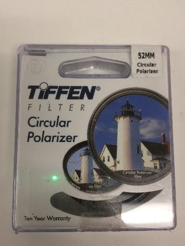 Tiffen Circular Polarizer Filter - 52mm