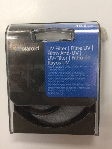 Polaroid Optics 40.5mm Multi-Coated UV Protective Filter