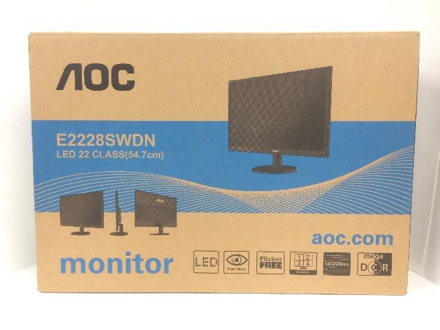 AOC 22-Inch Class LED-Lit Monitor, Full HD 1080p