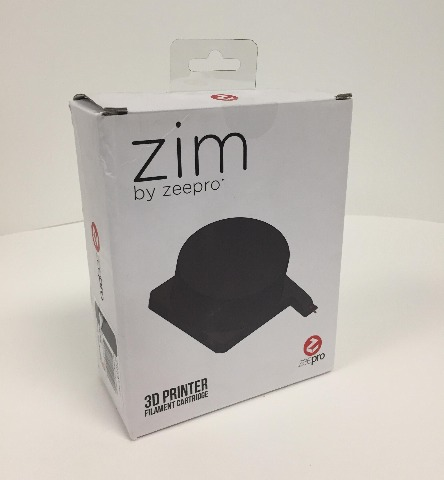 ZP - PLA BLACK - 001  Black  PLA plastic  Filament