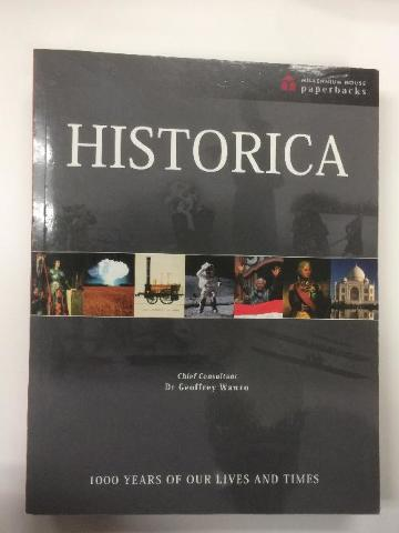 Historica  Dr. Geoffery wawro