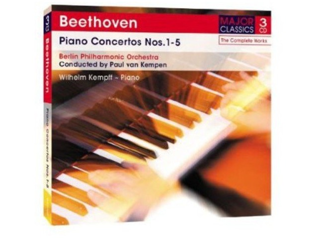 beethoven, Ludwig Va-piano Concertos 15 Wilhelm Kempff (uk Import) Cd