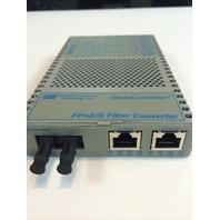 Omnitron OmniConverter 9300-0-21W Fast Ethernet Media Converter
