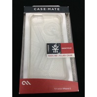 Case-Mate - Ekocycle Barely There Hard Shell Case Apple iPhone 5 5s SE - Clear