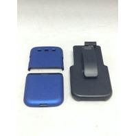 Samsung Galaxy S III Blue With Holster - Platinum
