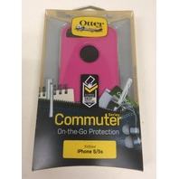 Otterbox Commuter Series Case For iPhone 5 5s - Pink/White