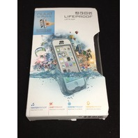 Lifeproof iPhone 5c Nuud Case - Carrying Case - White/Clear