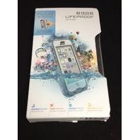 GENUINE Lifeproof iPhone 5c Nuud Case  - White/Grey/Clear