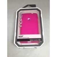 NGP Impact resistant case pink Nokia lumia 520