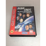 Star Trek Tng Echoes From The Past For Sega Genesis (No Manual)