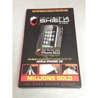 Zagg Inc. Invisibleshield Protective Film For Apple iPhone 3g