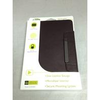 Gear Head Genuine Leather Slim Portfolio For iPad Mini, Brown (Lfs3800brn)