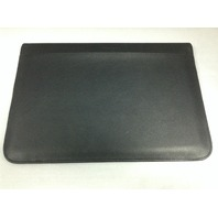 Snugg Universal Leather Sleeve Case For 13 inch Laptops - Black - NEW